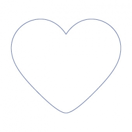 Herz Bierdeckel selbst gestalten