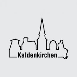 Skyline Kaldenkirchen schwarze Kontur